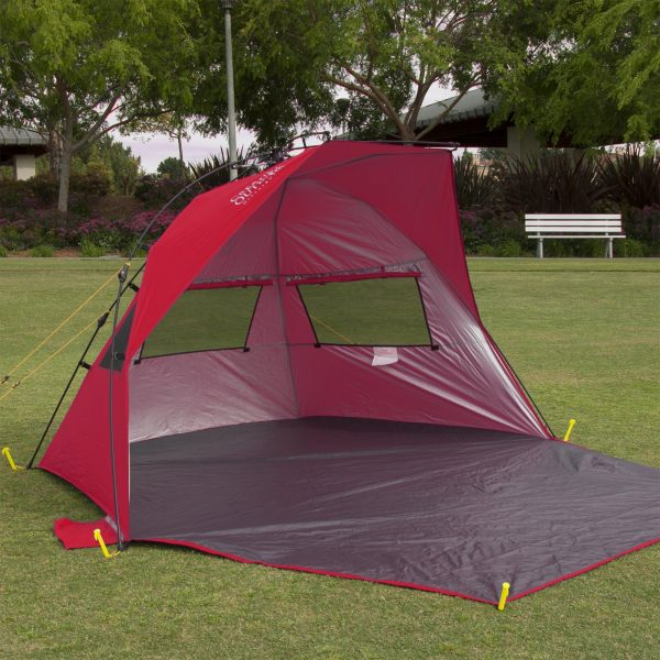 INSTANT POP UP CABANA TENT SUN SHELTER WITH CARRY BAG
