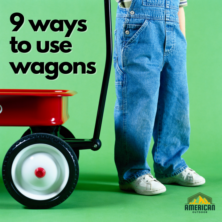9 Ways to Use Push and Pull Wagons