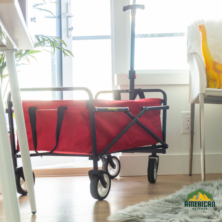 Need Help With Travel, Storage Space, or Work? Try Using Push And Pull Wagons